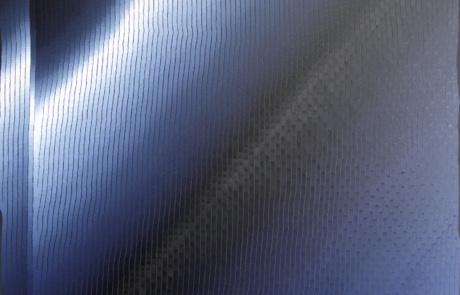 BTI Indigo 04 - 120 x 120 cm - Huile sur toile - 2021