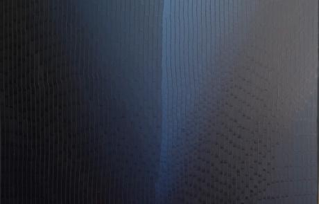WTB Indigo 18 - 120 x 140 cm - Huile sur toile - 2021