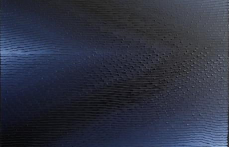 WTB Indigo 21 - 80 x 80 cm - Huile sur toile - 2021