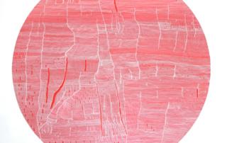 Weaving 0102 - 120 X 120 cm - Acrylique sur toile, 2016