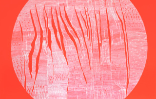 Weaving 0103 - 120 x 120 cm - Acrylique sur toile, 2016