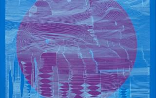 Weavings 0404 - 80 x 80 cm - Acrylique sur toile - 2020