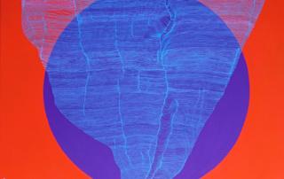 Weavings 0405 - 80 x 80 cm - Acrylique sur toile - 2016